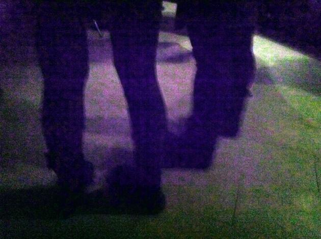 l'unica foto che ho scattato quella sera. sorry.